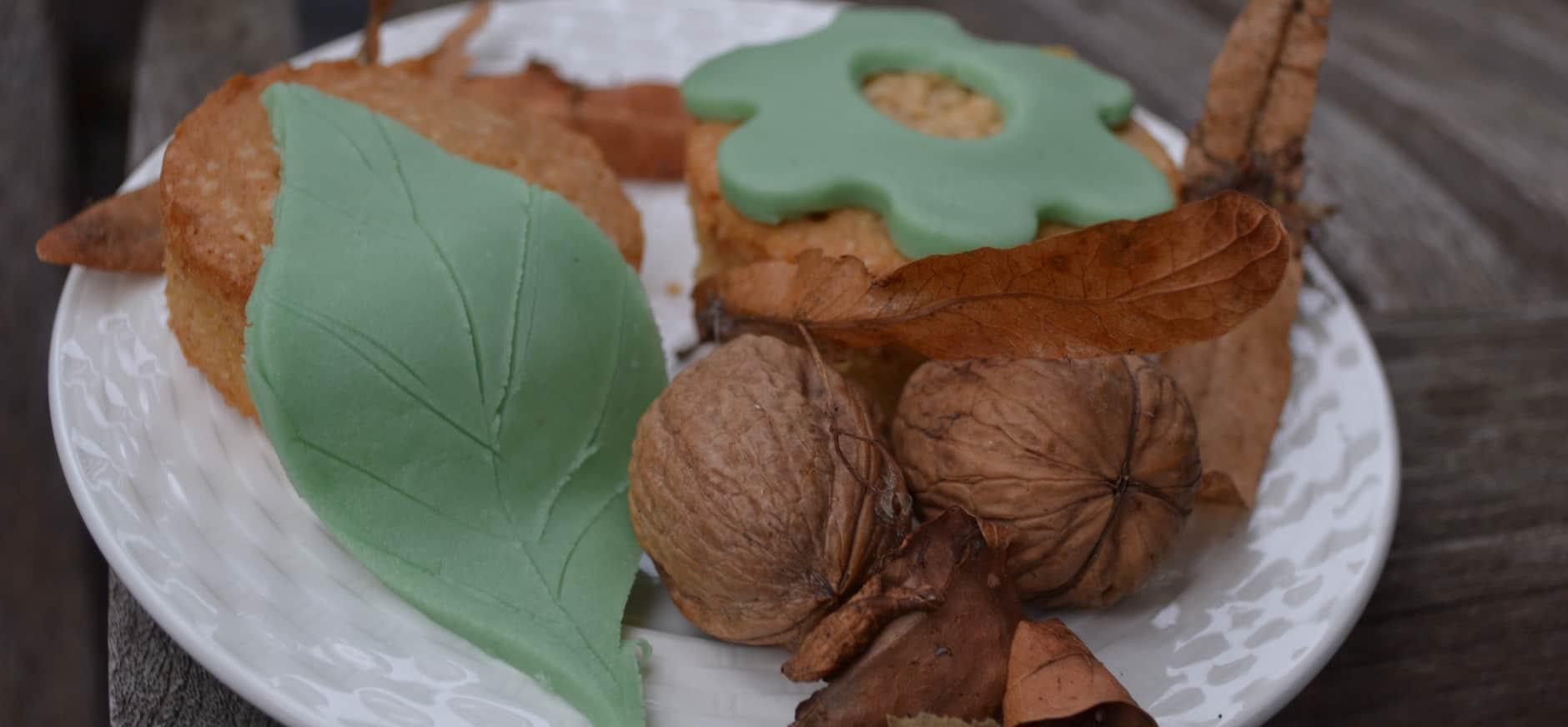 Herfstcakejes maken