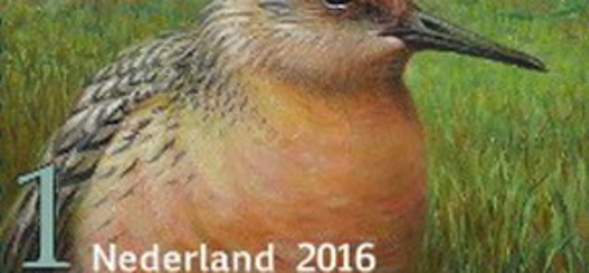 Griend wint postzegelverkiezing 2016