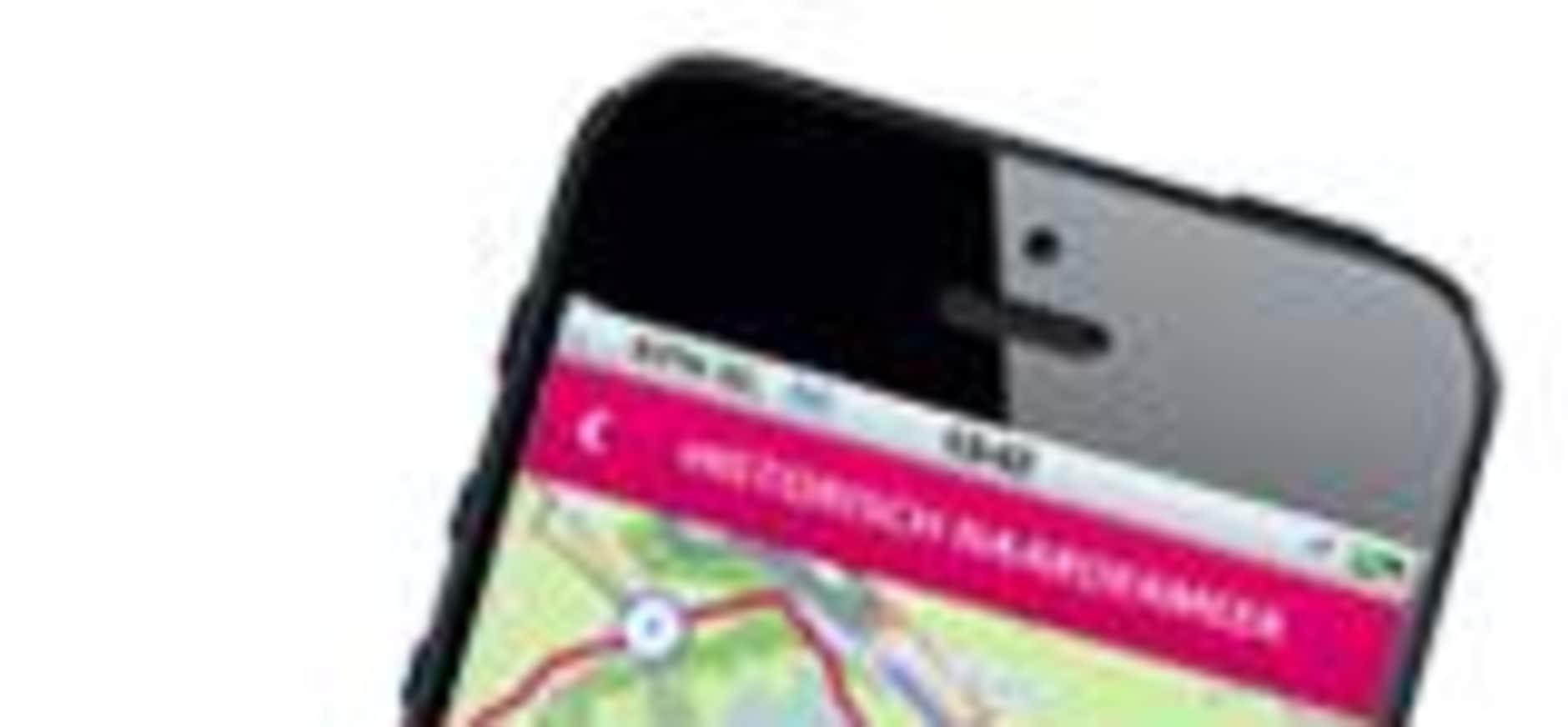 Natuur Route app ruim 300.000 keer gedownload