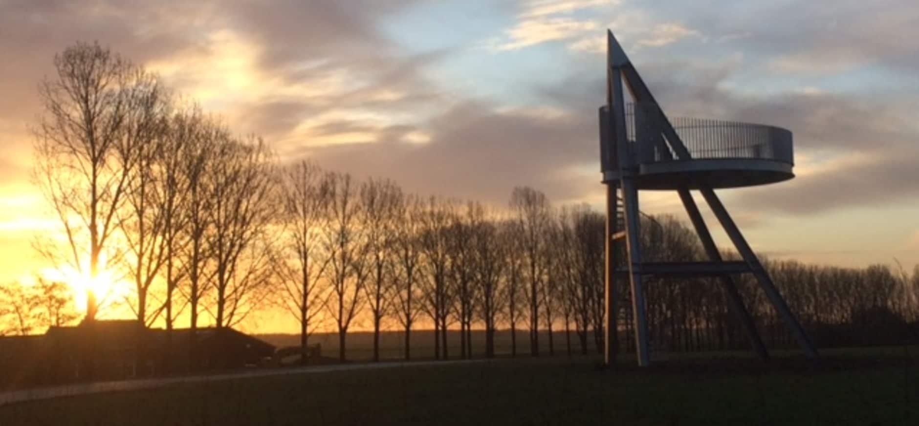 Kom naar de opening van de uitkijktoren in Hemelrijkse Waard op 15 april