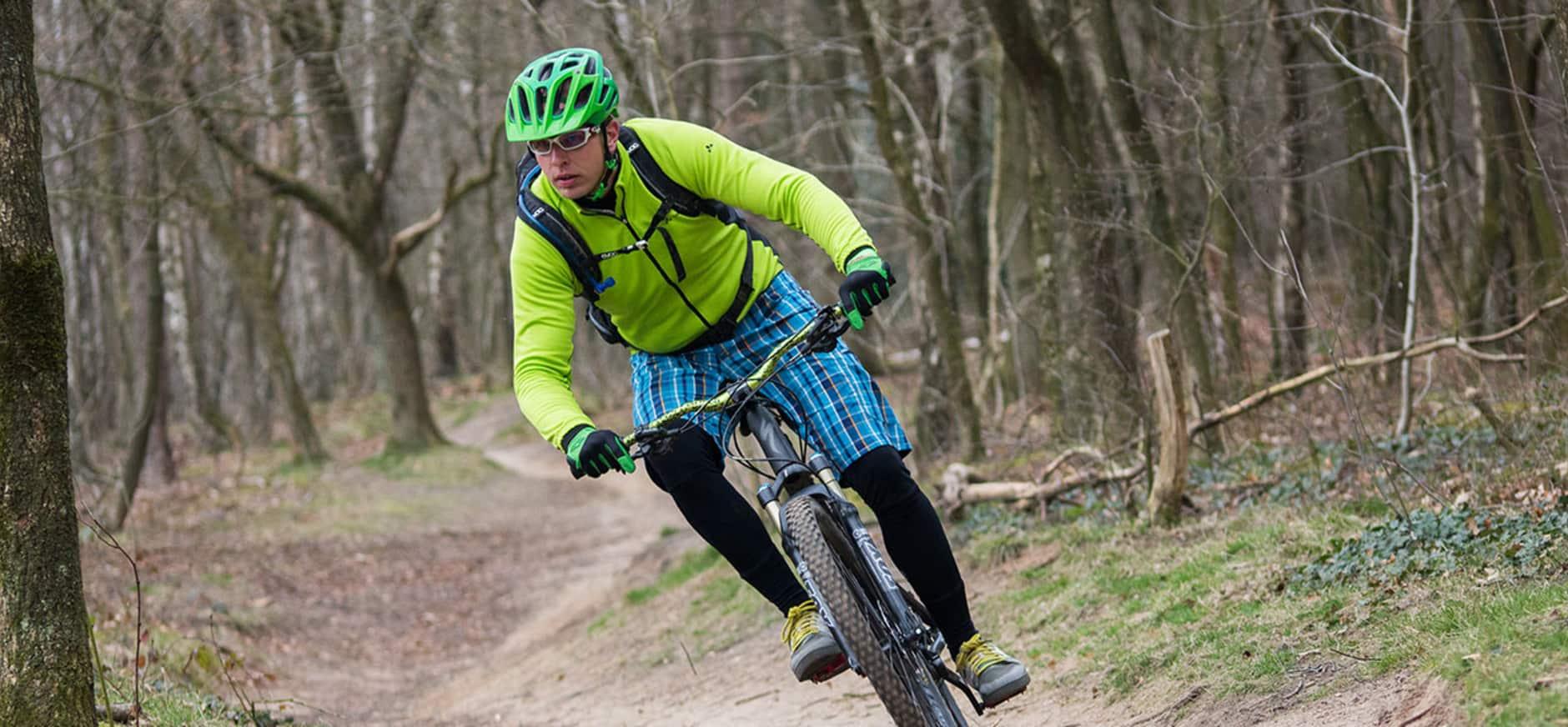 Mountainbiken met Save-Me