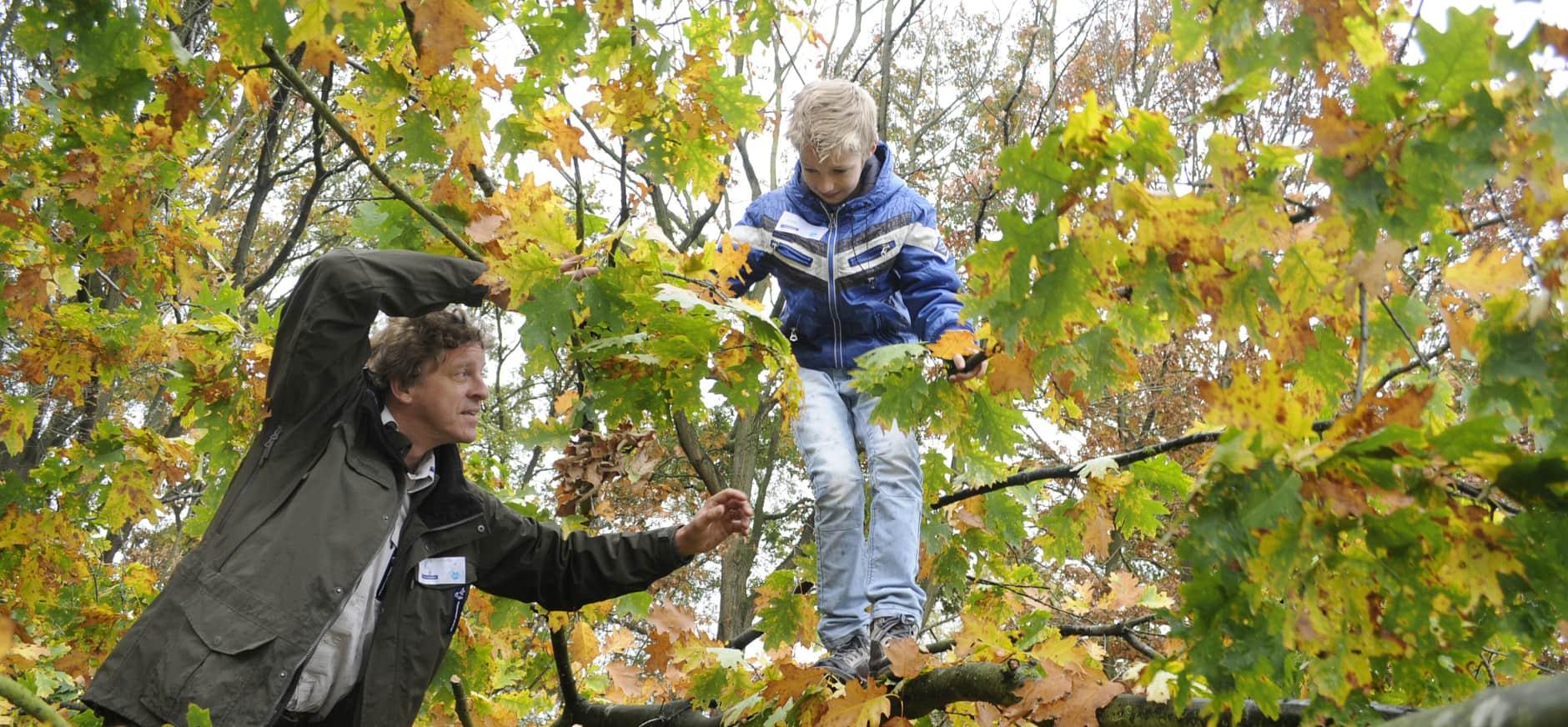 Vrijwilliger natuurbeheer Loonse en Drunense Duinen en Huis ter Heide