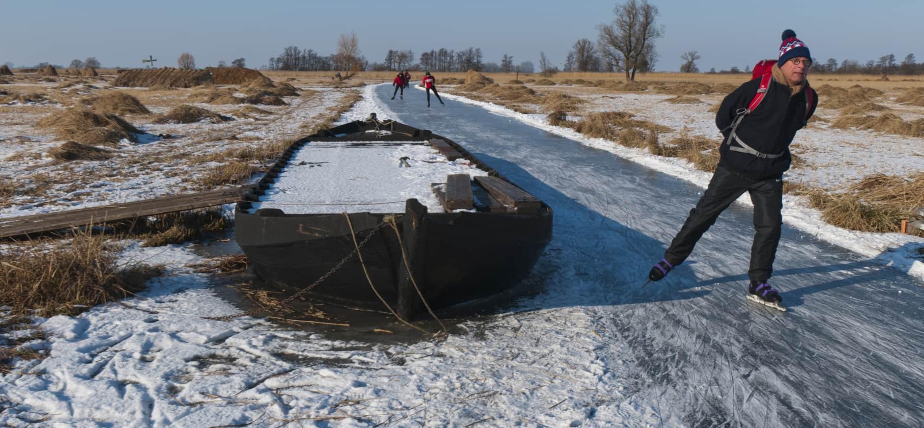Schaatsen in De Wieden