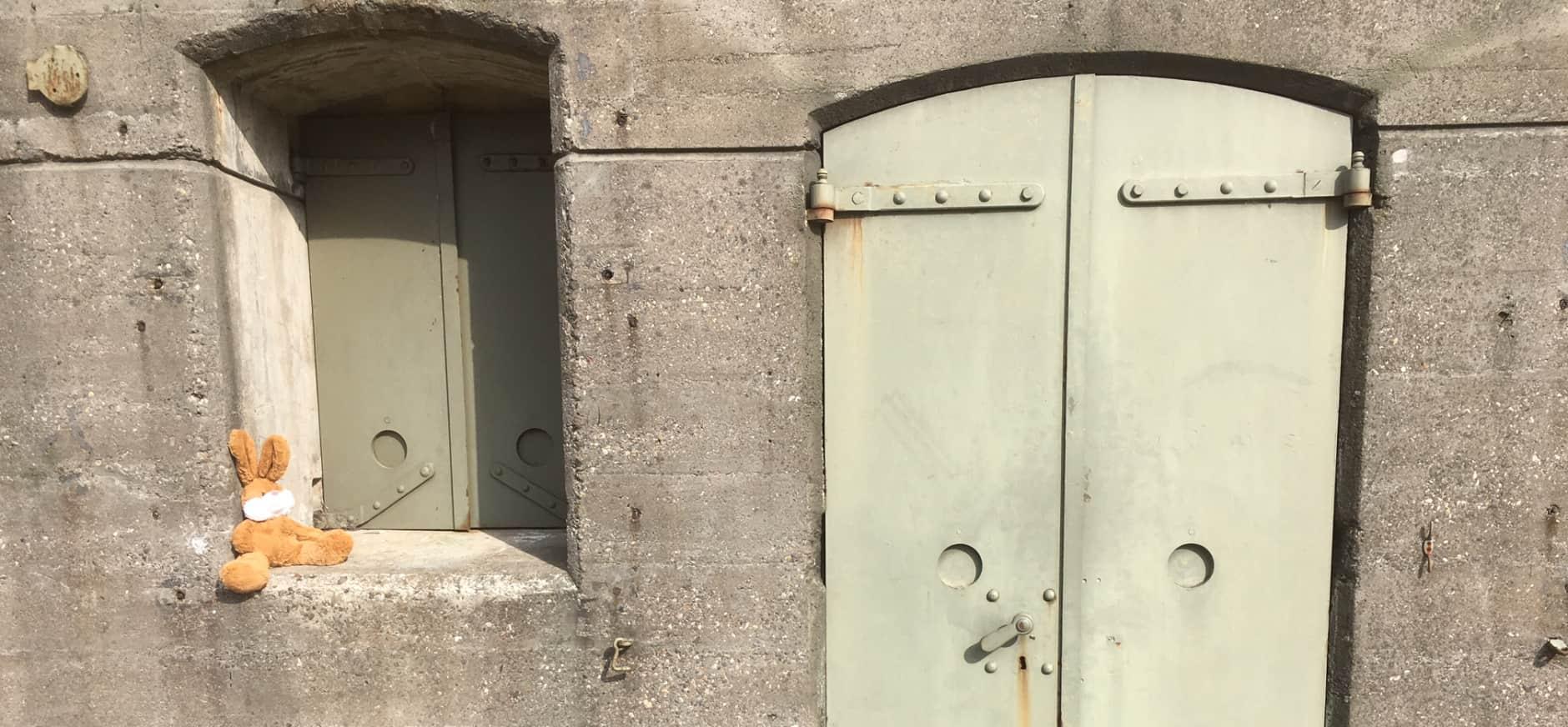 Paasspeurtocht op Fort bij Spijkerboor