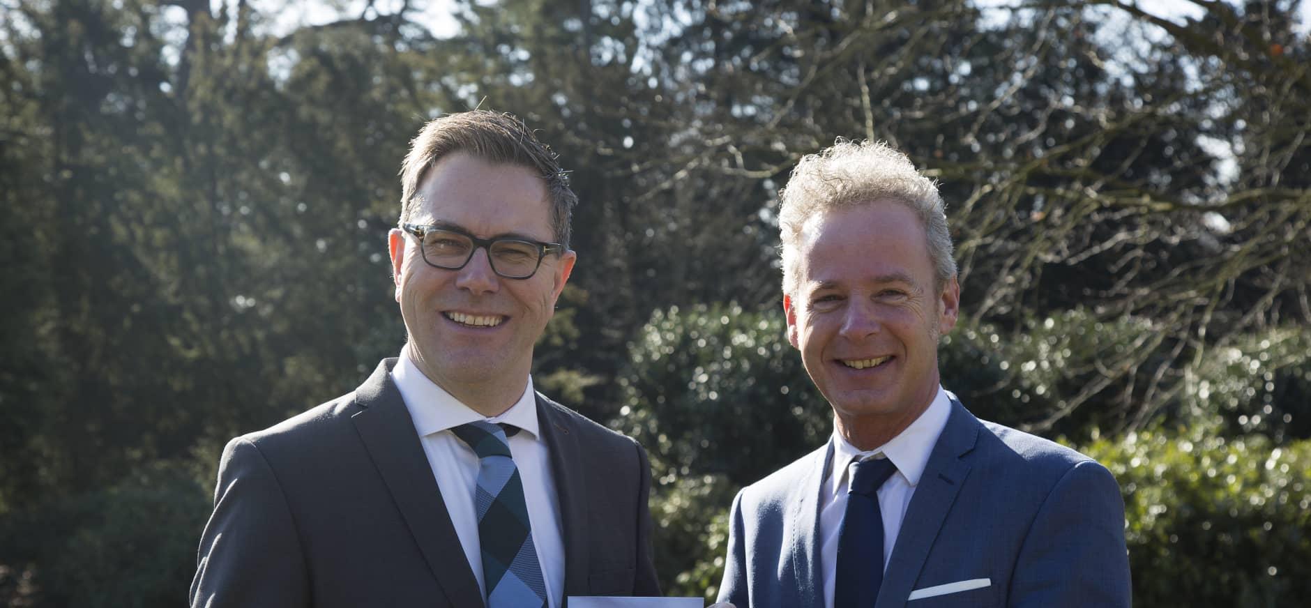 Marc van den Tweel en Egbert Roozen