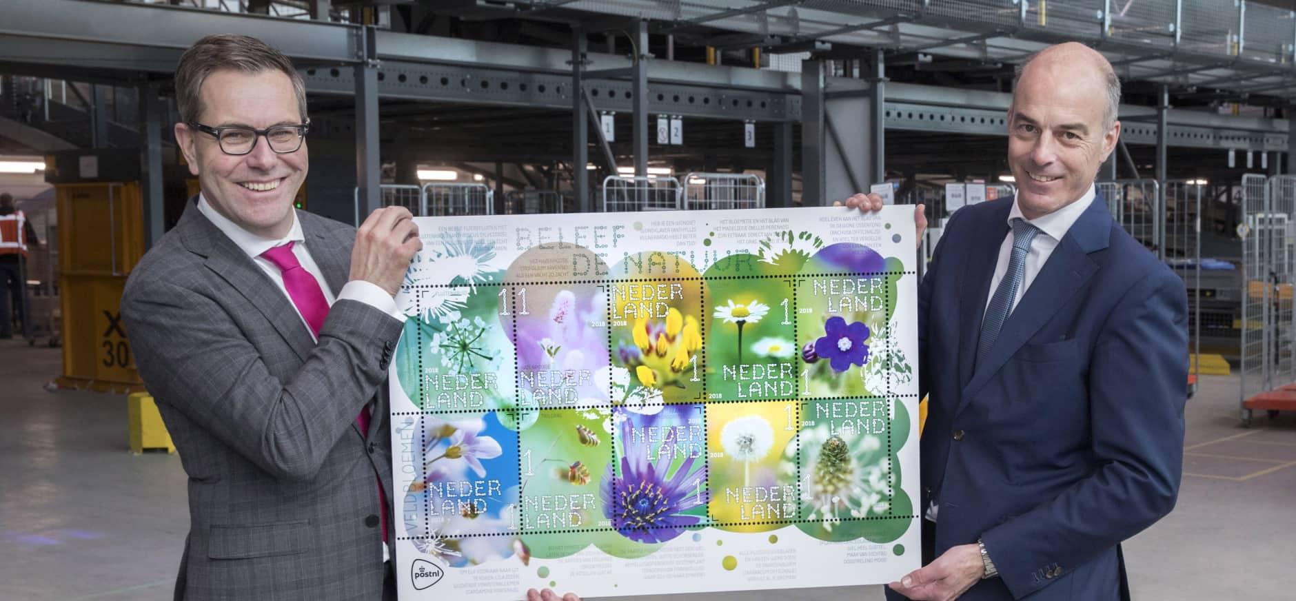 Postzegels 'Beleef de natuur'