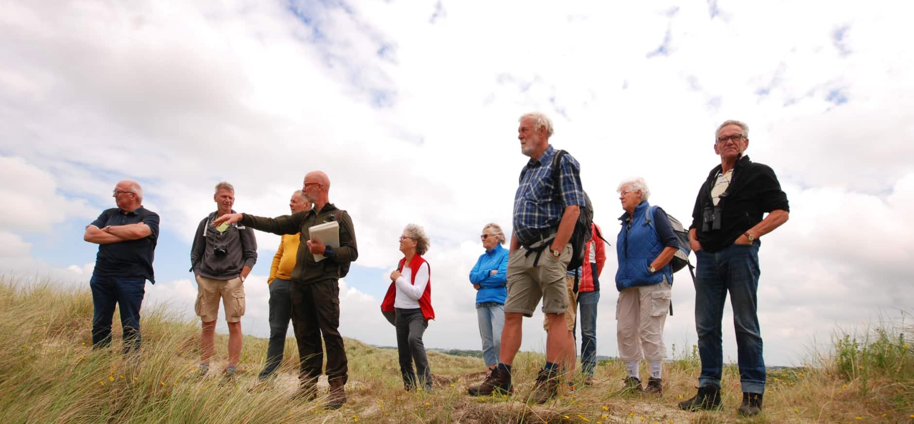 Vrijwillige excursieleider