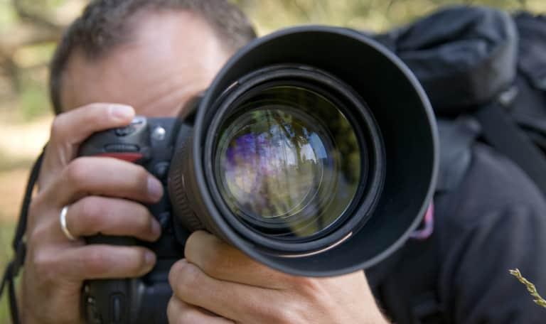 Varen en landschaps-/macrofotografie