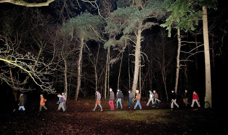 OERRR Nachtwachter in de Oisterwijkse bossen