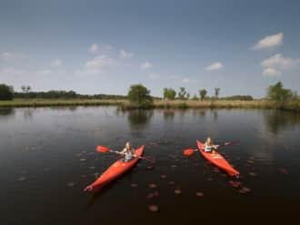 Kanoroute Giethoorn-Rood in De Wieden