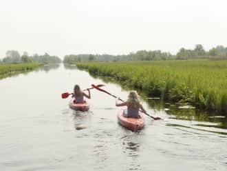 Kanoroute Belt-Schutsloot in De Wieden