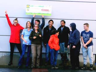 1000 euro gewonnen bij Lidl helpt Lokaal!
