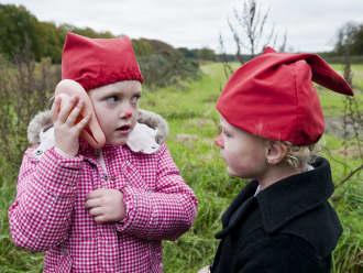 Kinderfeestje kabouters op landgoed Egheria