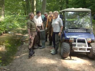 Caroline Tensen ontdekt Nationaal Park Veluwezoom