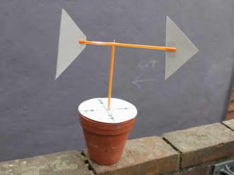 Maak zelf een windwijzer
