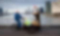 Boer Arie en boswachter Natascha voor Rotterdam de boer op