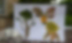 Dieren maken van bladeren - OERRR