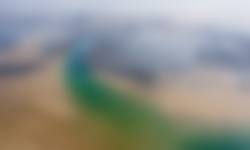 Luchtfoto zandplaten Oosterschelde