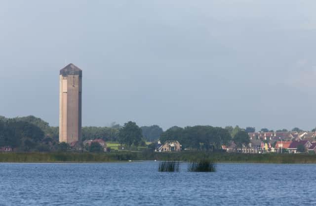 Watertoren beklimmen