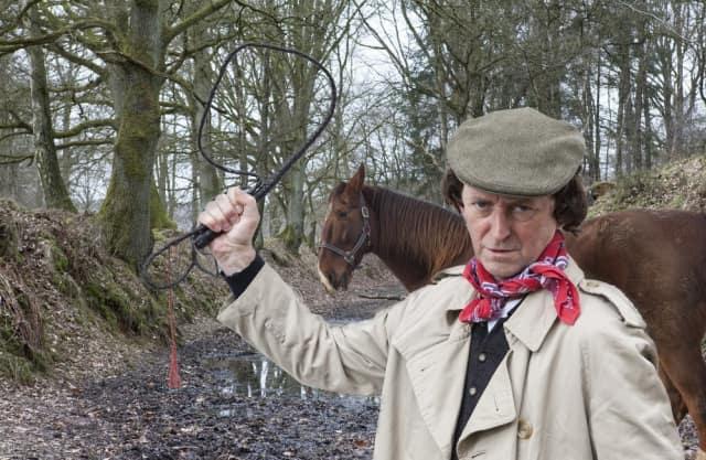 Het Hijgend paard in de Holle Weg