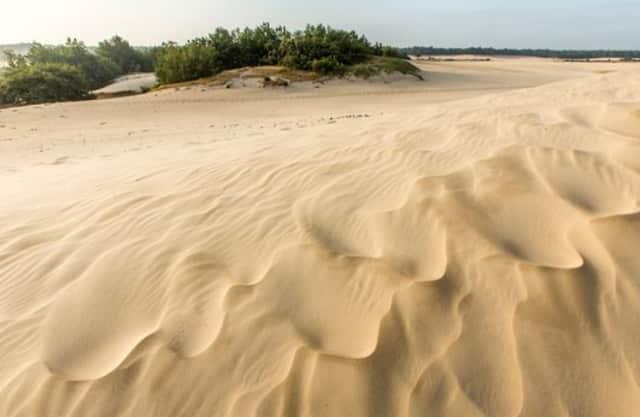 Stukje woestijn