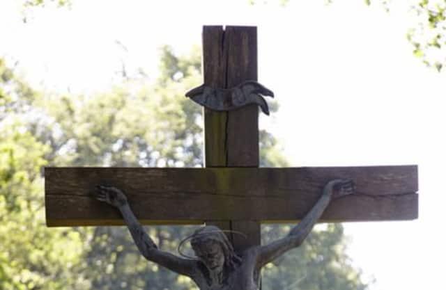 Kruisbeeld en Dianabeeld