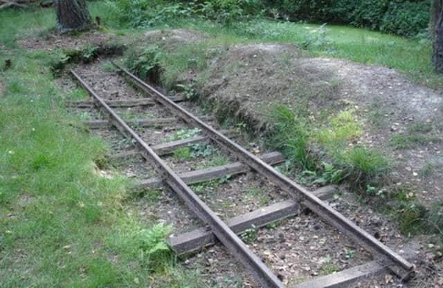 Opgegraven spoorlijn