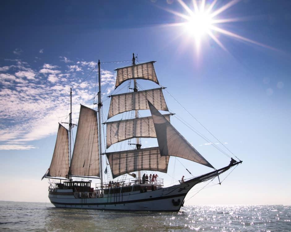 Met zeilschip Abel Tasman naar Marker Wadden