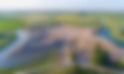 Fort Henricus vanuit de lucht