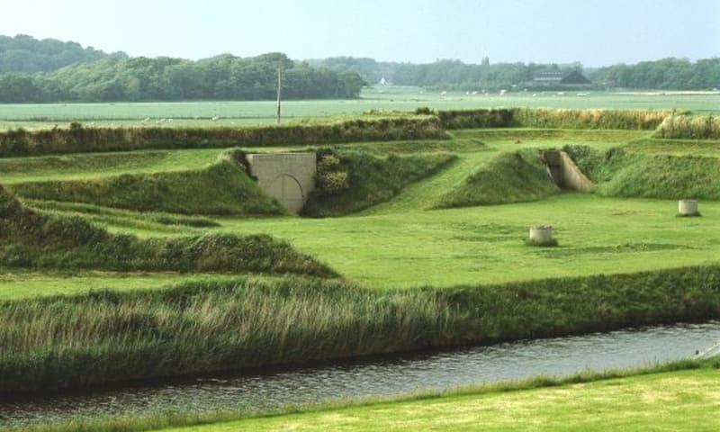 Open Monumentendag Fort De Schans op Texel