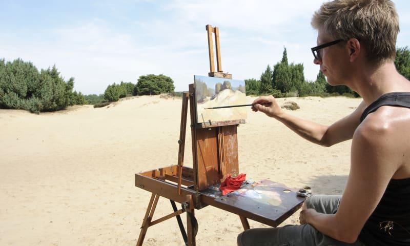 Workshop landschap schilderen - Zwanenwater