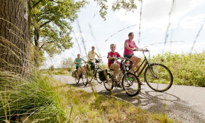 Fietsroute De Wieden, langs Giethoorn