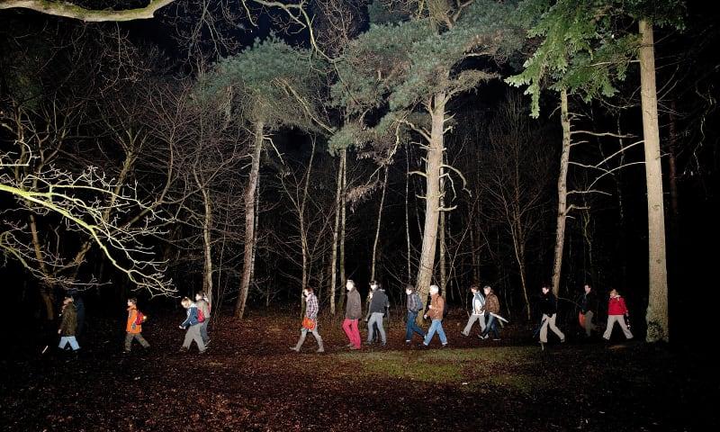 Met de nachtwachter op stap door Planken Wambuis