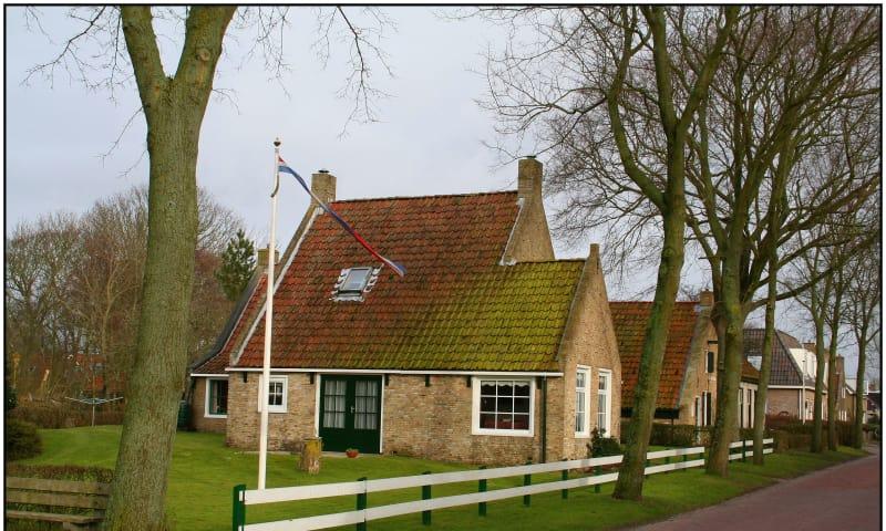 Wandeling in en om het dorp Schiermonnikoog