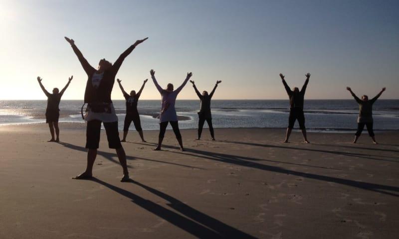 Dag van het Wad - Yoga aan het Wad