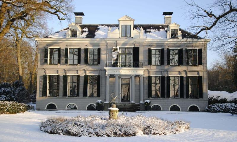 Ontdek de winterse buitenplaatsen Boekesteyn en Schaep en Burgh in 's-Graveland