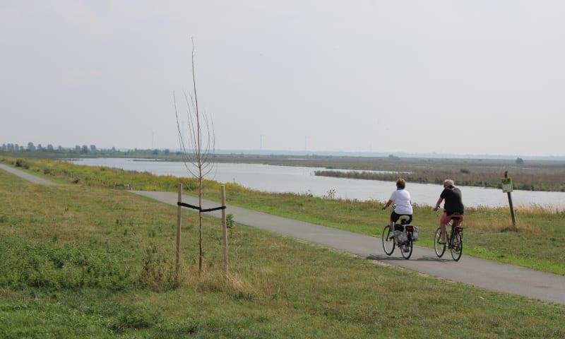 TG per fiets
