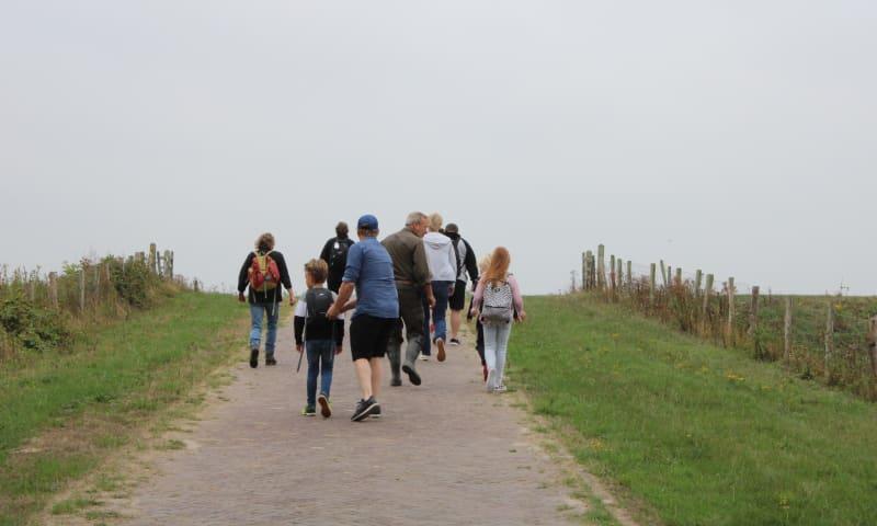 mini expeditie naar de Vliedberg op Tiengemeten