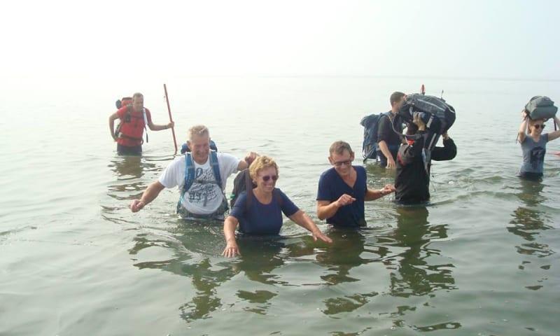 Wadlopen van Brakzand naar Schiermonnikoog