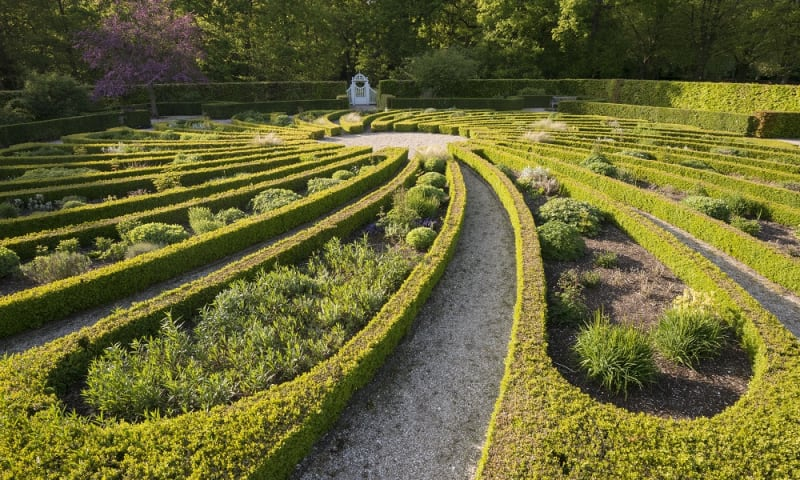 Tuin op Landgoed Beeckestijn