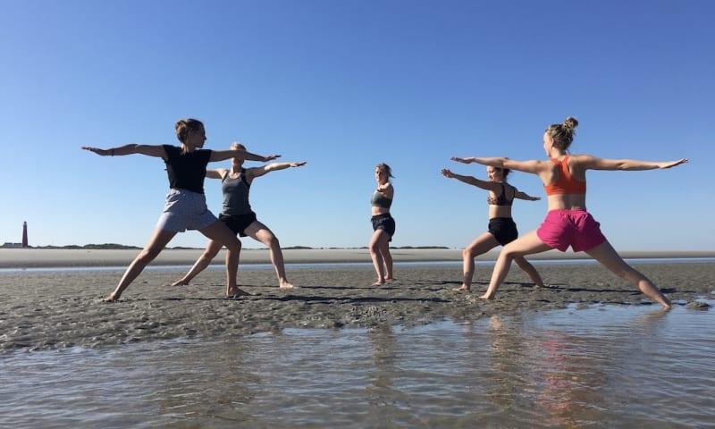 yoga op Schiermonnikoog
