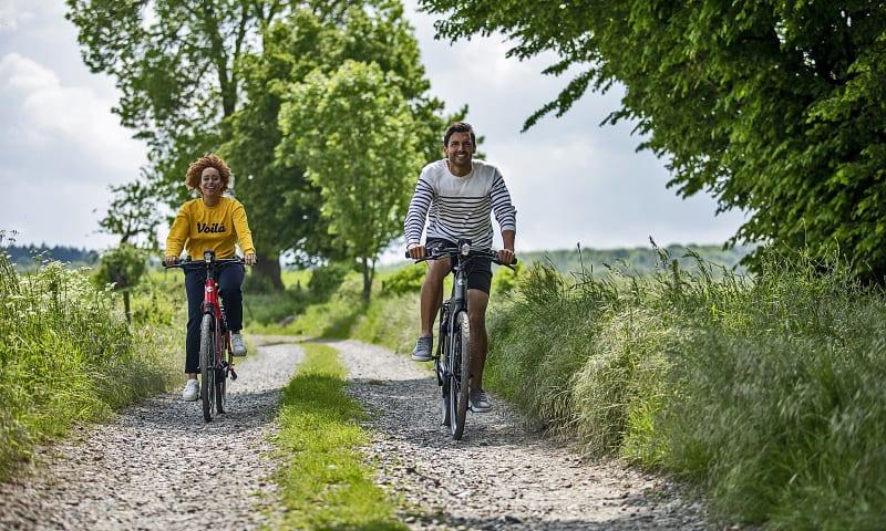 Gazelle fietsroute Dieren en Veluwezoom