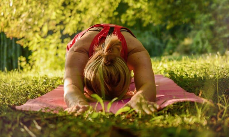 Yoga op De Slotplaats