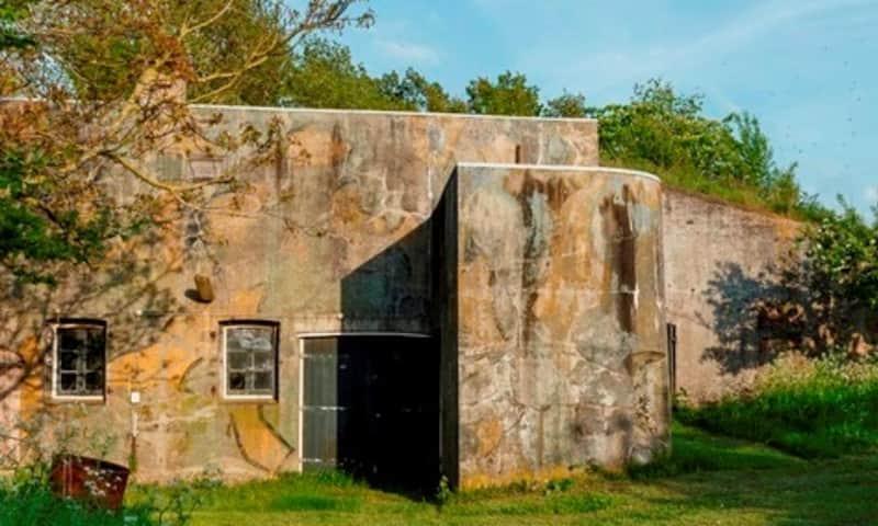 Camouflage Fort Kijkuit