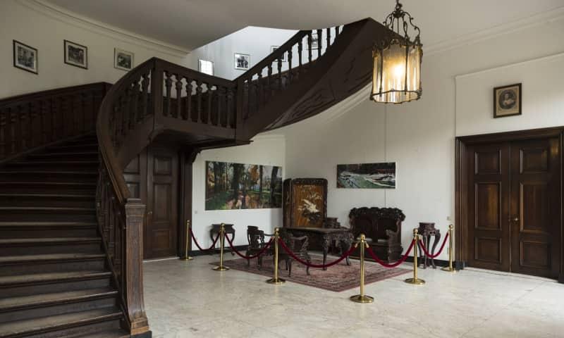 Hangende trap Kasteel Eerde