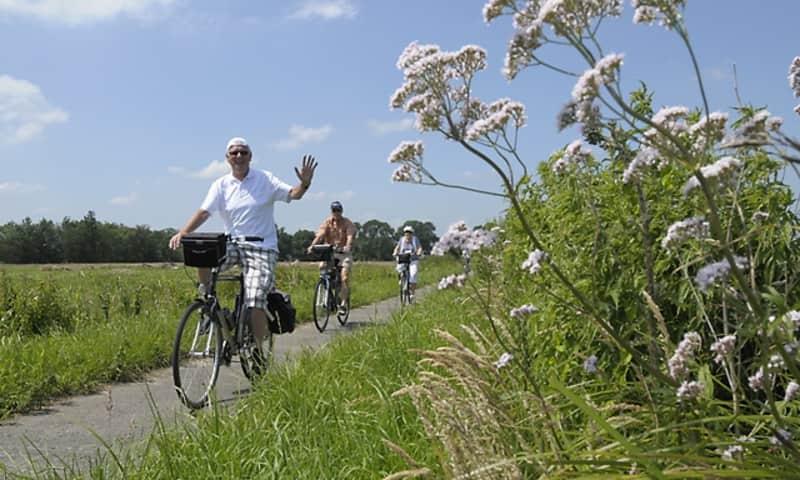 Historische fietsroute tussen Rotterdam en Den Haag