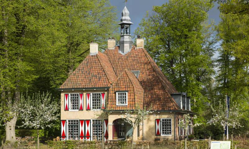 Buitenaanzicht van Landgoed de Slotplaats