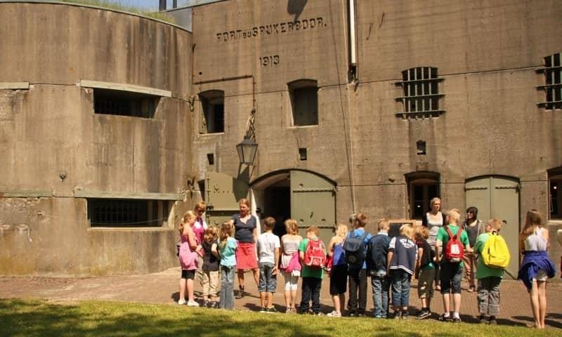 Rondleiding met gids op Fort bij Spijkerboor (incl entree)