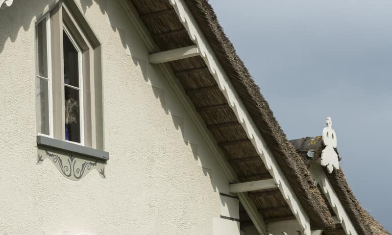 Detail Portierswoning Bagatelle op Landgoed de Colckhof