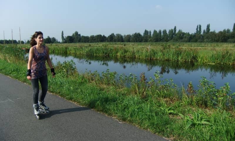 Skeelerroute in Midden-Delfland